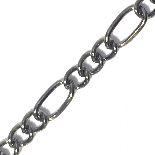 Figaro gun metal plated chain - 6523024